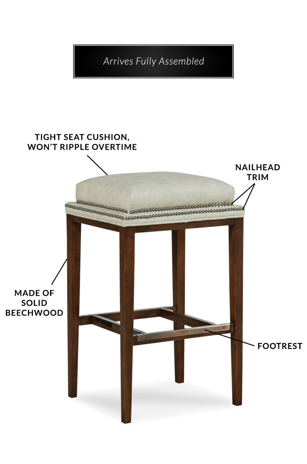 Square Outdoor Bar Stool Cushions Deauville 18 X 16 5 In