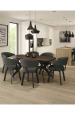 Amisco's Grissom Dining Chairs in Dining Room