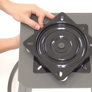Extra strong swivel plates