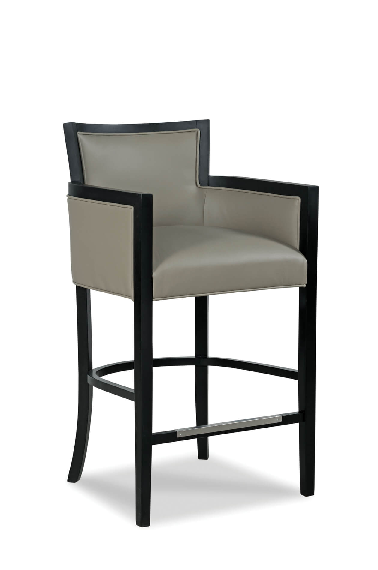 Merveilleux Fairfieldu0027s Albany Wooden Bar Stool With Arms And ...