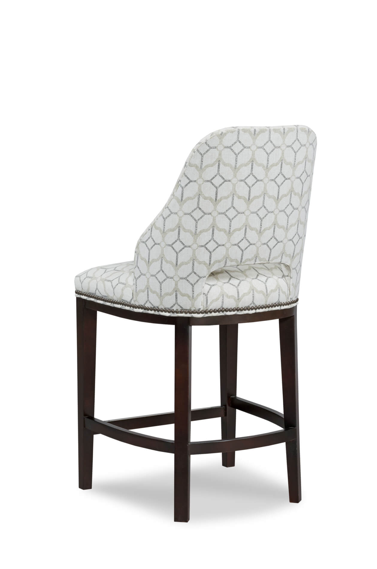 Enjoyable Darien Upholstered Wooden Stool With Back Ibusinesslaw Wood Chair Design Ideas Ibusinesslaworg