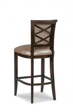 Fairfield's Mackay Wood Barstool with Cross Back Design