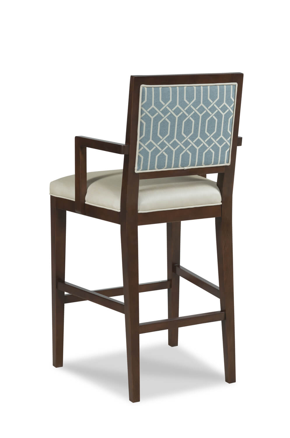 Prime Potter Upholstered Wooden Stool With Arms Cjindustries Chair Design For Home Cjindustriesco