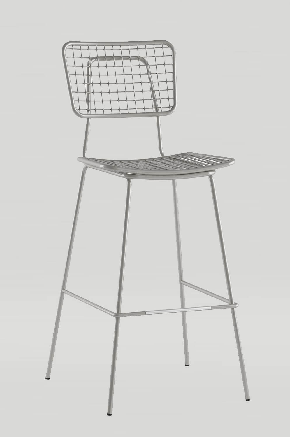 Outstanding Opla Outdoor Stool With Back Unemploymentrelief Wooden Chair Designs For Living Room Unemploymentrelieforg