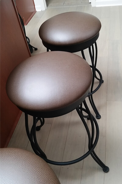 3000 Georgian Backless Swivel Counter Stool
