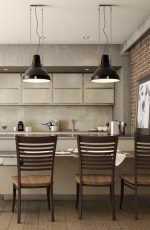 Amisco's Edwin Modern Dining Chairs in Kitchen