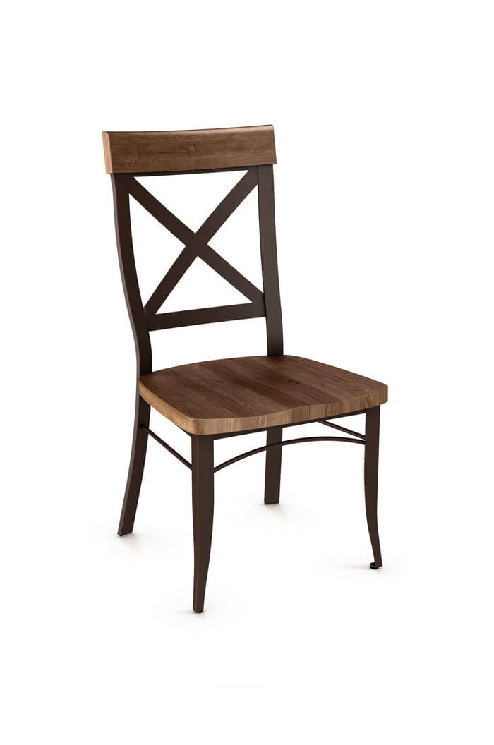 Kyle Dining Chair with Wood Seat