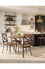 Amisco Kyle Dining Chairs in Modern Dining Room