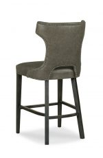 Fairfield's Gavin Traditional Wood Stool with Nailhead Trim on Back
