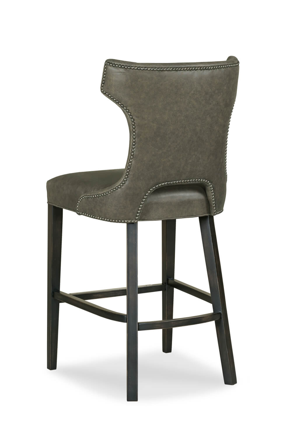 Buy Gavin Upholstered Wood Bar Stool W Wing Back Free
