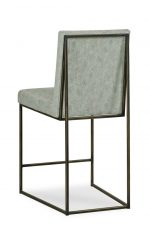 Fairfield's Ian Modern Bar Stool with Linear Frame