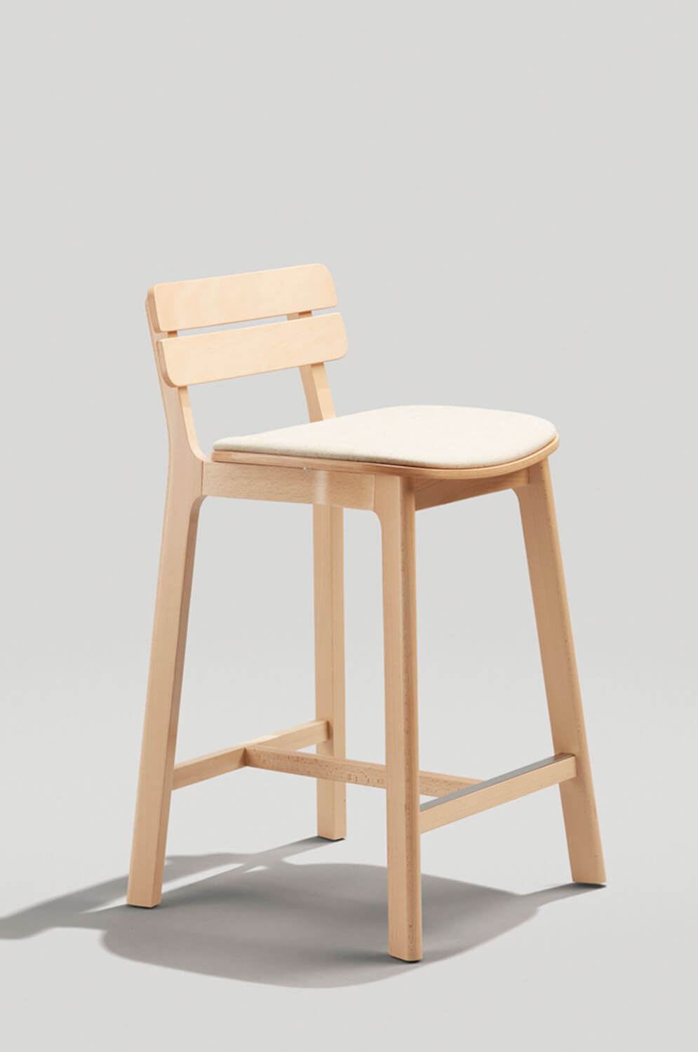 Prime Brooke Stool With Low Back And Upholstered Seat Uwap Interior Chair Design Uwaporg