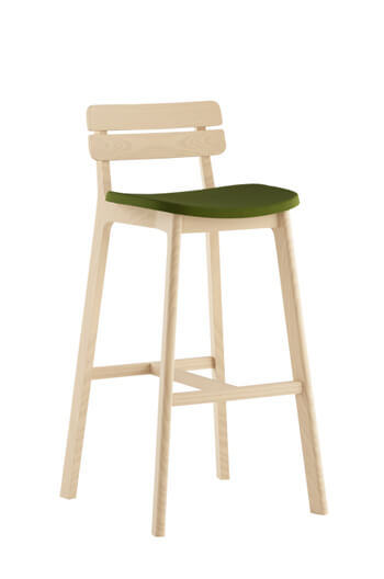 Grand Rapids Chair Company - Brooke Stool with Upholstered Seat