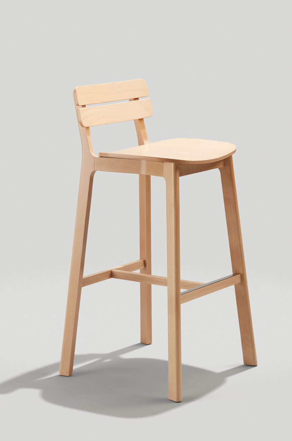 Peachy Brooke Low Back Wooden Bar Stool Uwap Interior Chair Design Uwaporg