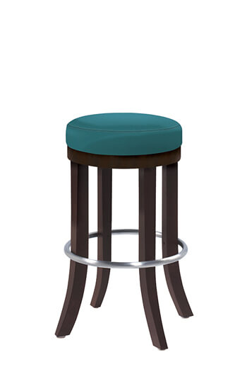 Harbor Backless Wooden 30 Inch Bar Stool Multiple Finishes