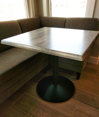 Breakfast Nook with Holland's Table