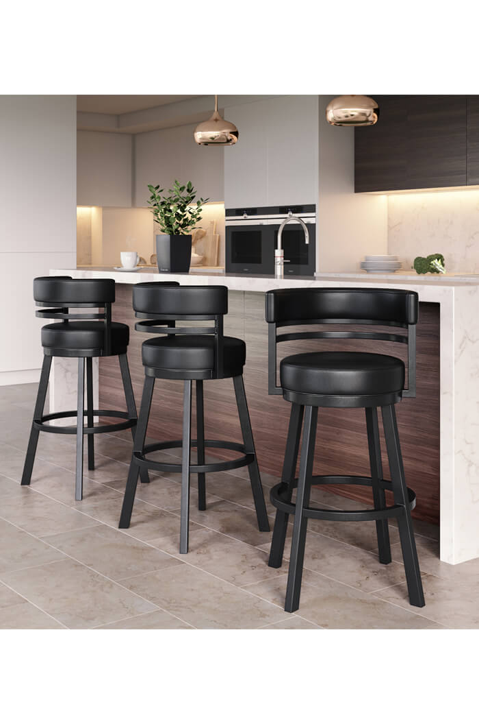 Groovy Ambridge Swivel Stool With Low Back Gmtry Best Dining Table And Chair Ideas Images Gmtryco