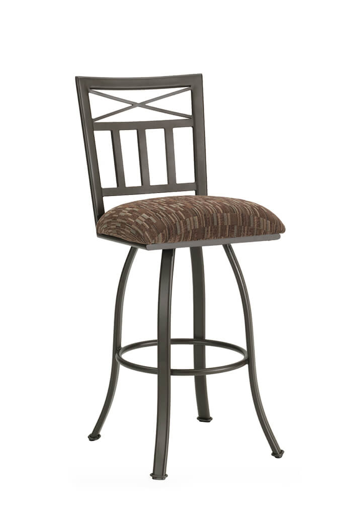 Delta Swivel Stool with Back