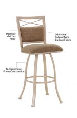 Callee's Denver Swivel Bar Stool - Features