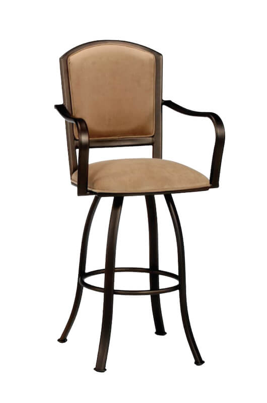 Dunhill Swivel Stool with Arms