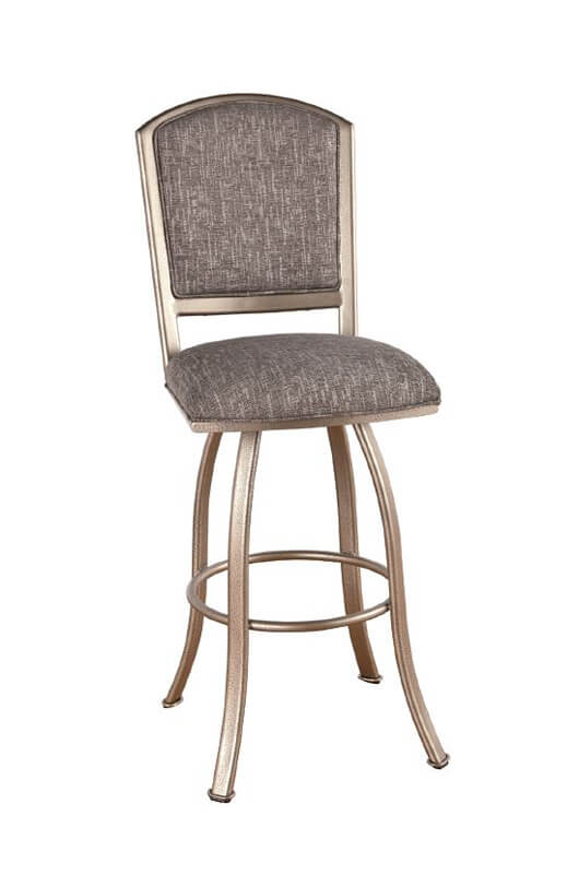 Callee S Dunhill Upholstered Swivel Metal Counter Stool