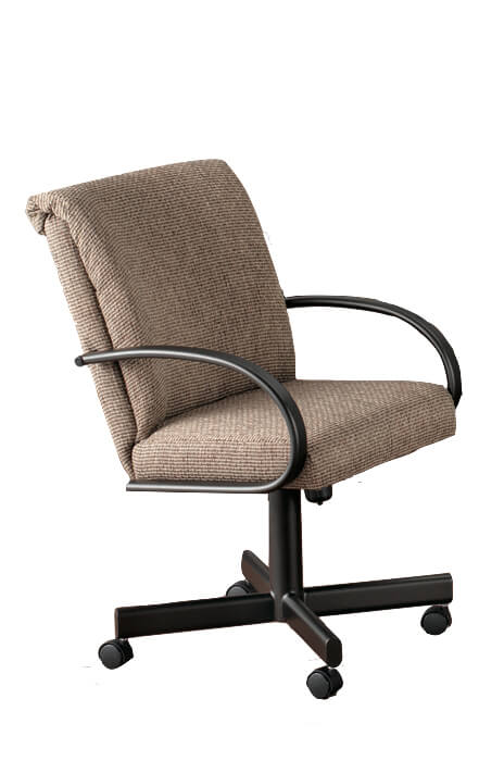 Durant Tilt Swivel Dining Chair with Arms