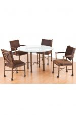 Callee's Grace Dining Chairs with Arms - Dinette Set