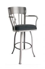 Callee's Indiana Swivel Bar Stool with Arms