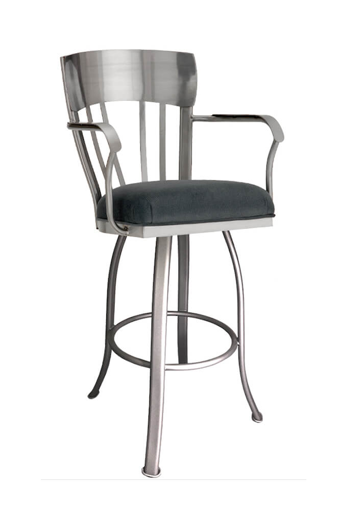 Indiana Swivel Stool with Arms