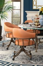Callee's London Tilt Swivel Chairs in Dining Room