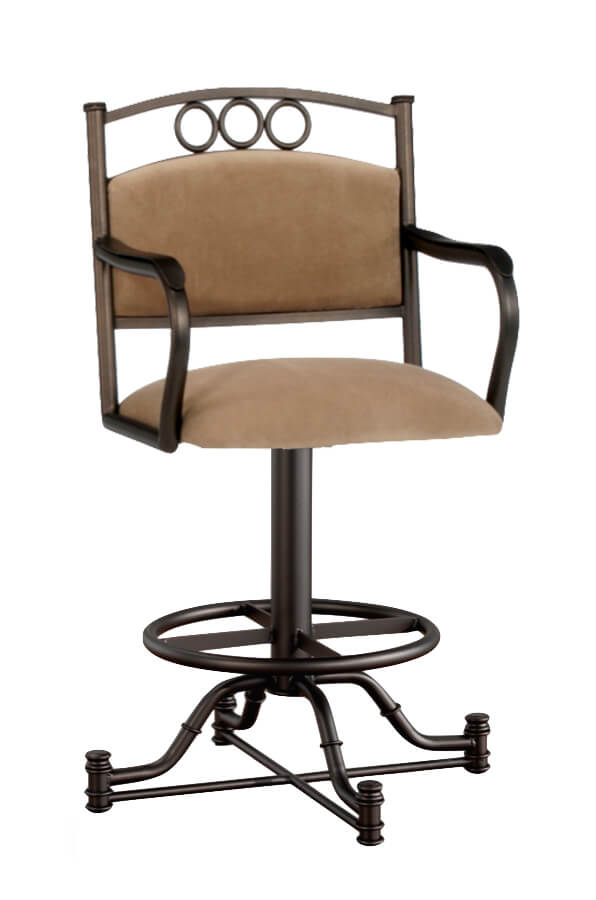 Winford Swivel Stool with Arms