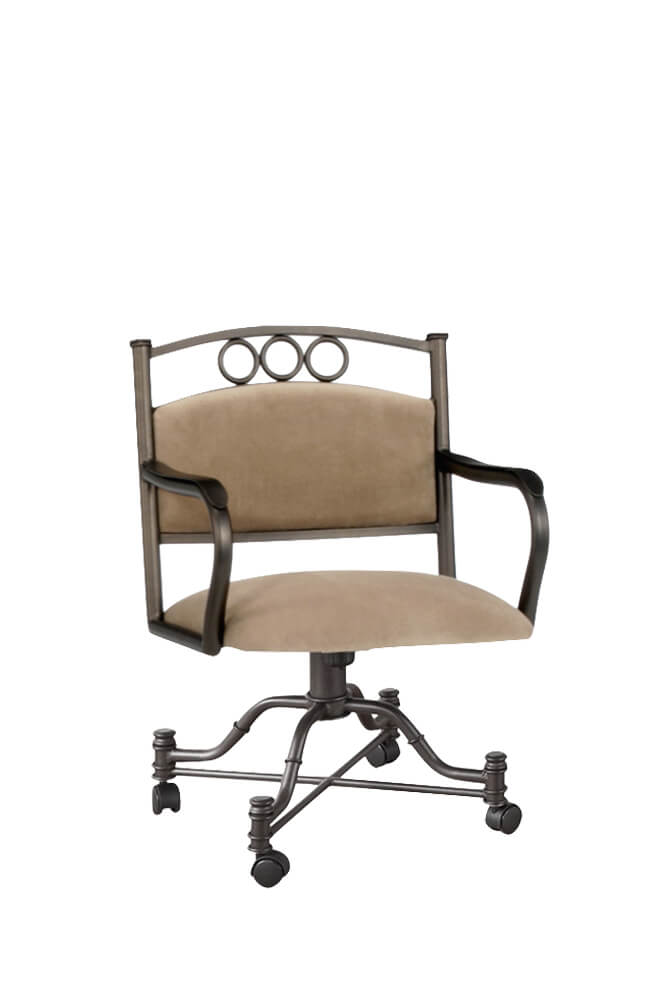 Callee's Winford Tilt Swivel Dining Chair with Arms