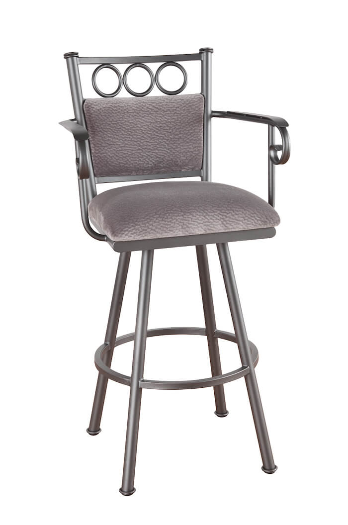 Winland Swivel Stool with Arms