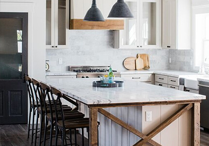 Farmhouse Kitchen Design Example