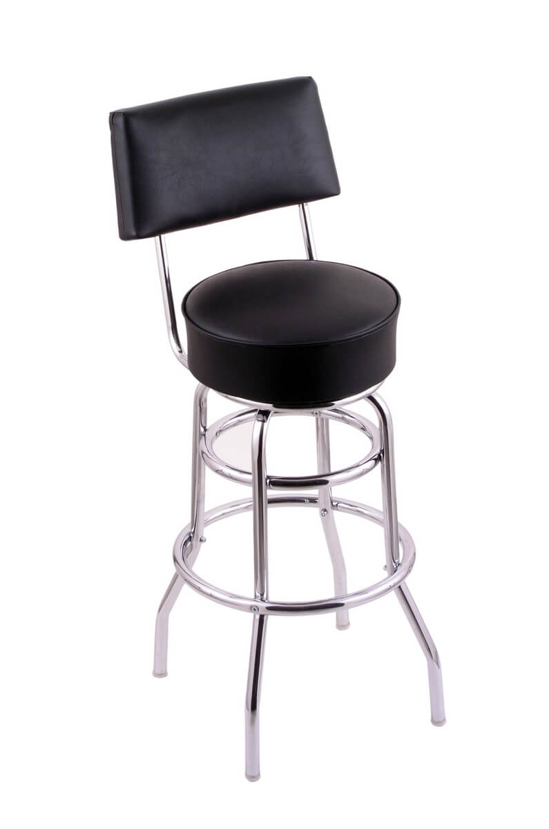 Holland Bar Stool's C7C4 Classic Series Swivel Stool with Back