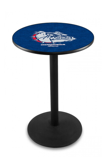 L211 Gonzaga University Logo Pub Table