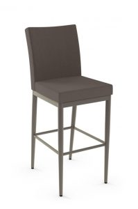 Amisco's Melrose Stationary Upholstered Bar or Counter Stool