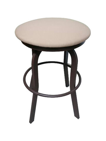 Backless Aluminum Outdoor Stool Dimensions