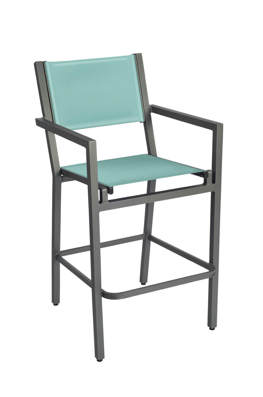 Strange Palm Coast Outdoor Sling Bar Stool 30 Ncnpc Chair Design For Home Ncnpcorg