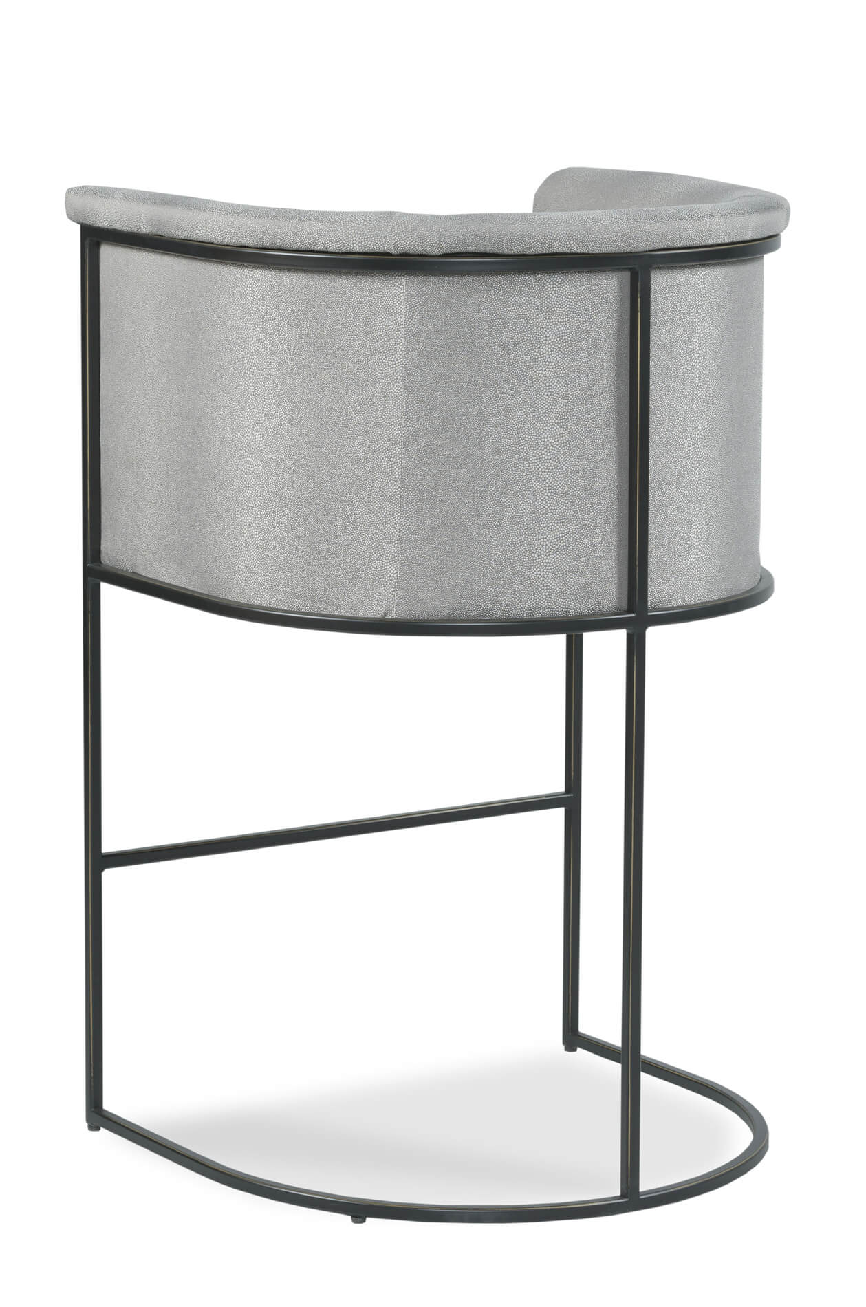 Prime Nolita Modern Curved Barrel Counter Stool Ncnpc Chair Design For Home Ncnpcorg