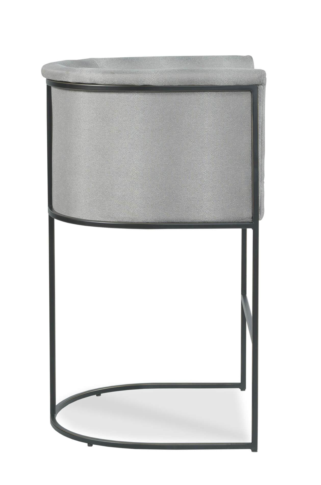 Buy Fairfield S Nolita Modern Upholstered Bronze Barstool