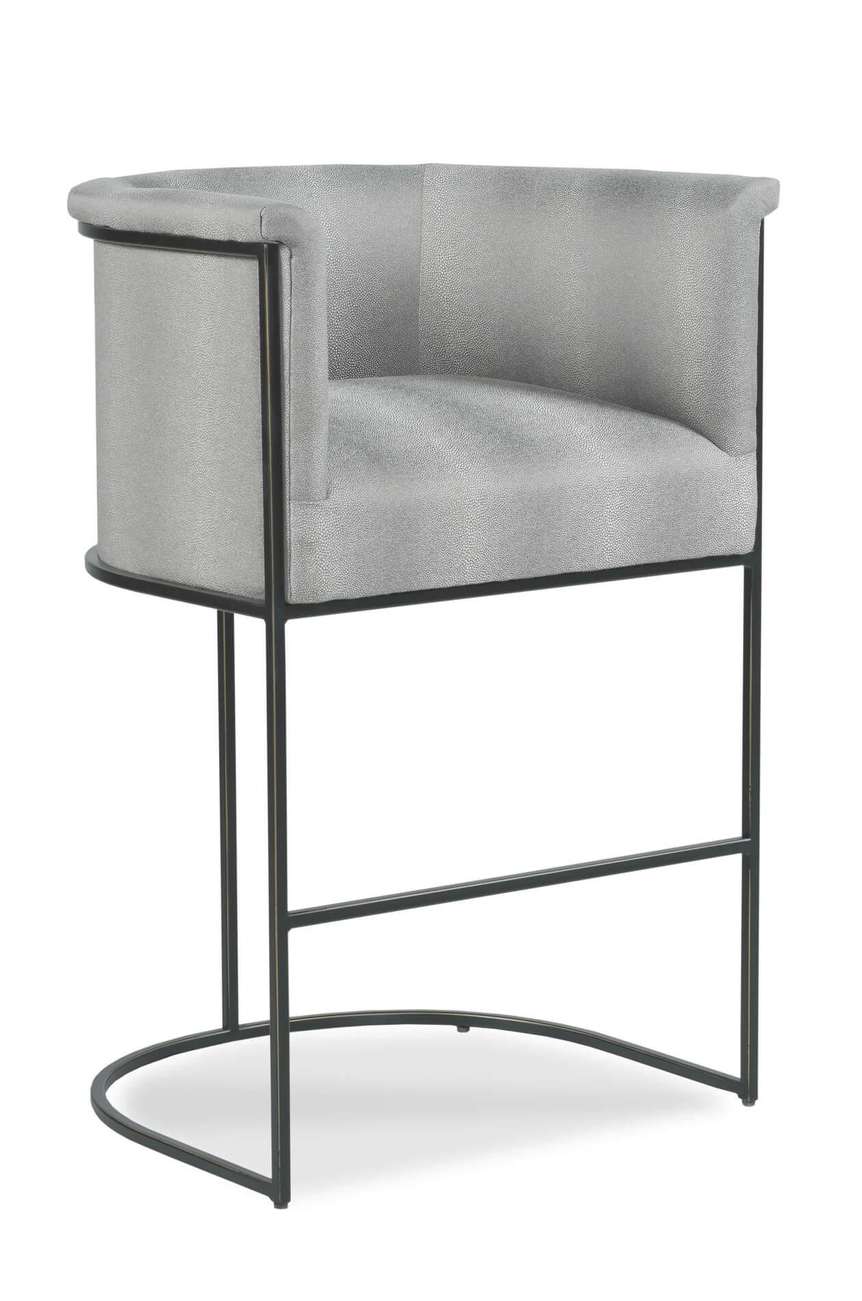 Buy Nolita Modern Upholstered Stool In Bronze Or Nickel