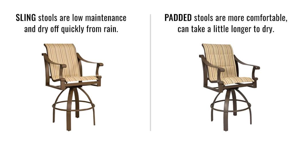 Regular Sling vs. Padded Slings