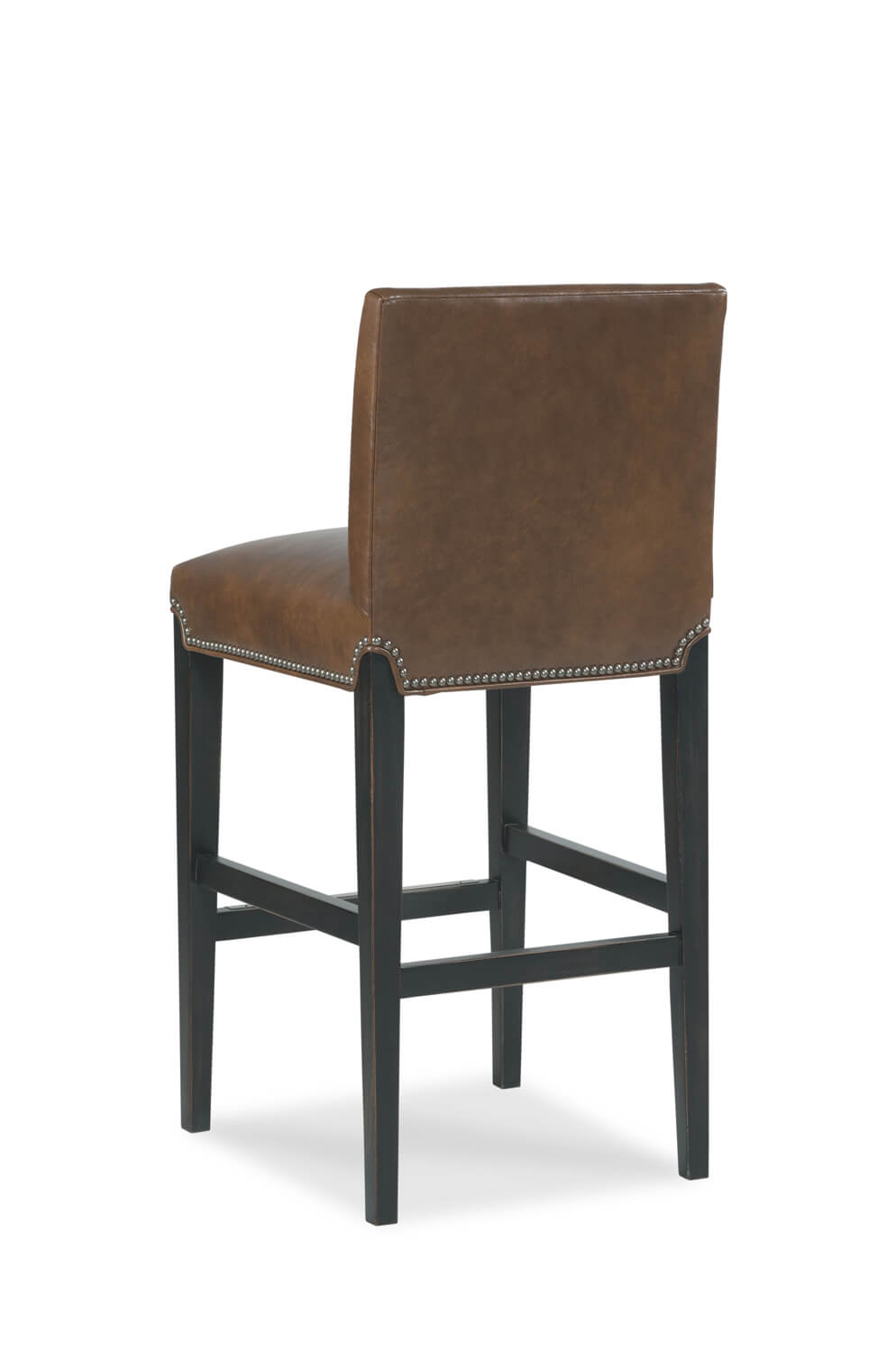 buy roxanne modern upholstered wood counter stool with nailhead trim. Black Bedroom Furniture Sets. Home Design Ideas