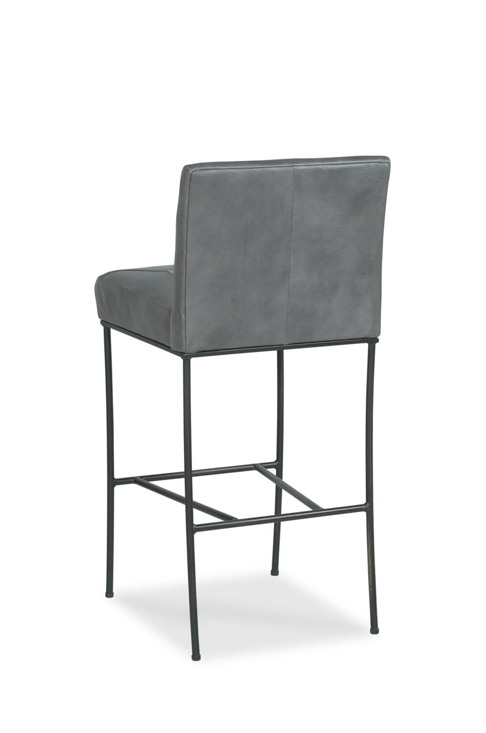 Buy Appollo Stationary Upholstered Metal Bar Stool In Bronze Or Nickel