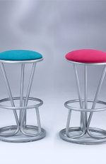 Lisa Furniture's #41 Backless Modern Barstools shown in Multiple Colors
