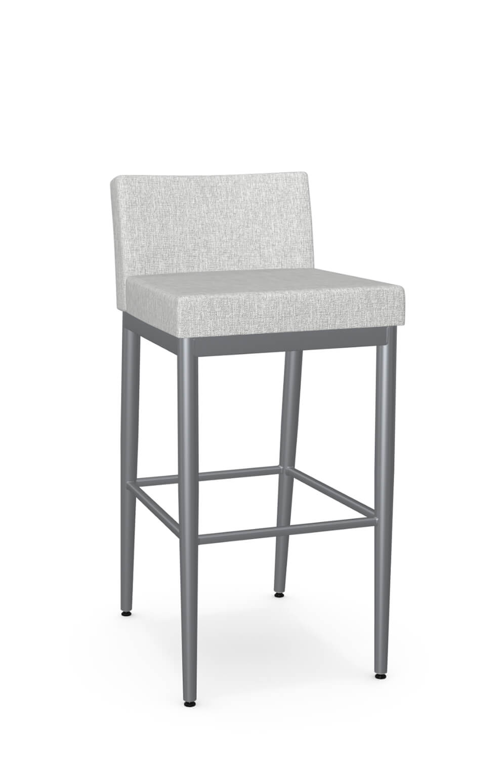 Picture of: Amisco Hanson Minimal Modern Stool With Low Back Free Shipping