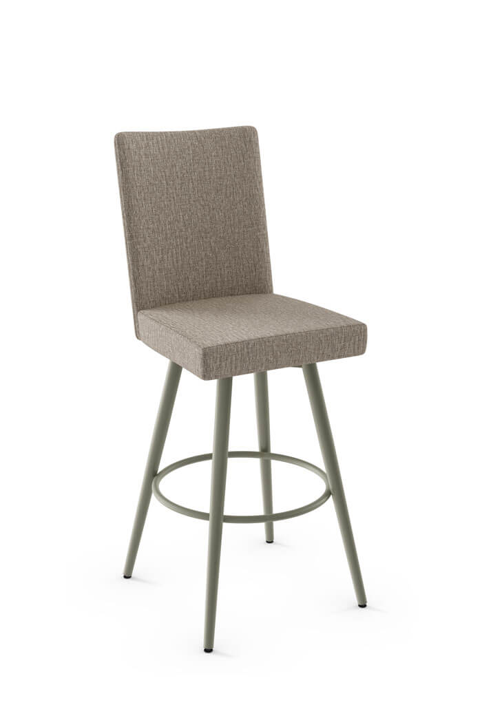 Buy Amisco S Webber Upholstered Swivel Bar Stool Free