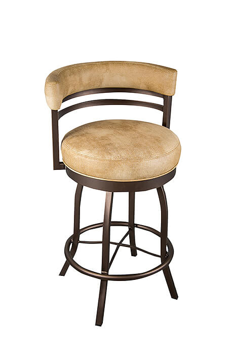 Buy Wesley Allen S Atlanta Swivel Stool With Low Back