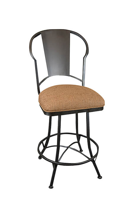 Buy Wesley Allen S Cleveland Swivel Counter Stool With Back Free